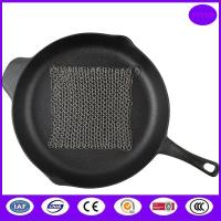 Quality stainless steel wire pot and pan scrubber for sale