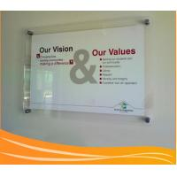 Quality Wall-mounted transparnet acrylic poster display frame for sale