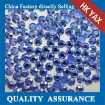 Quality Koren transfer Octagon Iron on Rhinestud,aluminum octagon Clothing hotfix studs  0825 for sale