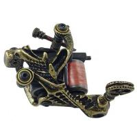 Quality 10 wrap coil empaistic tattoo machine with Permanent Feature for sale