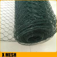 Quality Galvanized PVC Coated SMALL HOLE CHICKEN WIRE MESH /HEXAGONAL WIRE MESH Netting for Chicken Fence for sale