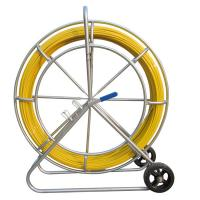 Buy cheap Floor Installation Fiberglass Duct Rodder , 6mm X 100 Meter Cable Pulling Rodder from wholesalers