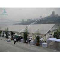 Quality Beautiful Transparent Luxury Wedding Marquee Tents For Hire Clear Span Fabric Structures for sale