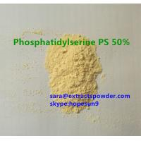 China natural phosphatidylserine from soya extract for nutritional supplement CAS 51446-62-9 on sale