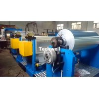 Quality 1.0mm Color Steel Metal Rolling Embossing Press Machine With Uncoiler And Recoiler for sale
