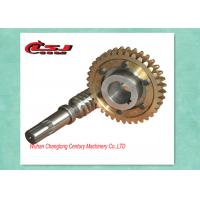 Precision Construction Elevator Parts Self Locking Worm Gear For Worm Gearbox