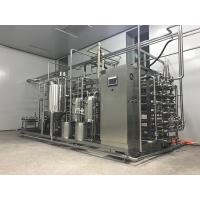 Quality 3T/H SS304 Tubular UHT Sterilization Machine For Fruit And Vegetable Juice for sale