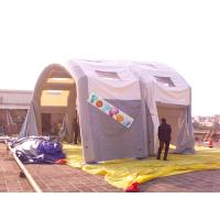 Quality Simple Strong Airtight Frame Tube Structure Inflatable Tent 0.9mm PVC Tarpaulin for sale