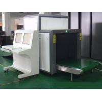 Quality Luggage X Ray Machine / X Ray Baggage Inspection System 0.22 M/S Speed for sale