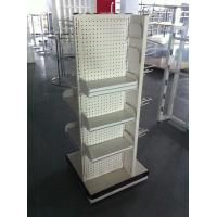 Buy cheap White supermarket shelf light duty gondola shelf from wholesalers