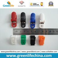 Quality Custom Colours Fashion Plastic Office ID Badge Clips Good Fastener Clip Accessory for Holding for sale