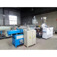 Quality Durable PE PP PA PVC Single Wall Corrugated Pipe Machine 20 - 50mm for sale