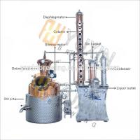 China Red Copper/Stainless Steel Micro Vodka Distillery Equipment for sale on sale