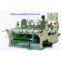 Quality Pasting Machine For Corrugated Boxes Single Or Double Carton Pressure Model for sale