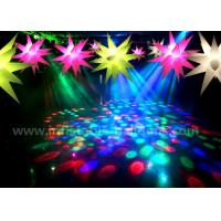 Quality Ceiling Decoration Inflatable Lighting Balloon / Inflatable LED Christmas Stars for sale