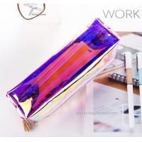 Buy Fashion Plastic Cosmetic Bags Heat - Sealed Welding Or Stitching / Sewing at wholesale prices