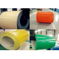 Quality Soft Semi / Full Hard PPGI And PPGL Sheets , Galvanized Sheet Metal Rolls for sale