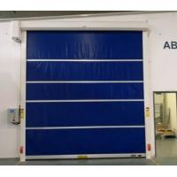 Quality Industrial Automatic PVC Fabric High Speed Performance Fast Acting Rapid Rise Overhead Quick Roll up door for sale