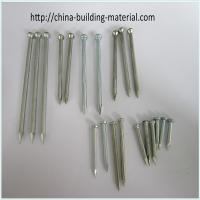 Buy cheap Galvanized concrete nail with fluted shank from wholesalers