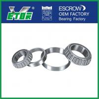 Quality High Temperature Taper Rolling Bearing , Tapered Wheel Bearing Anti Friction for sale