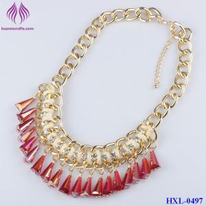 Quality Fashion Tone Metal Bead Bib Necklace Gypsy Boho bead Tassel Ethnic Tribal Necklace for sale