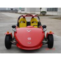 Quality Red Chain Drive Tricycle Motorcycle , Two Seats ATV Automatic With Reverse for sale
