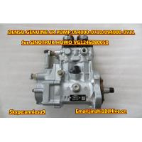 Quality DENSO Common Rail Fuel Pump 094000-0710 094000-0711 for SINOTRUK HOWO VG1246080050 for sale