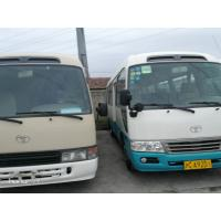 Quality 22 Seats Second Hand Toyota Coaster Bus , 2013 Year Toyota Coaster Used Japan for sale