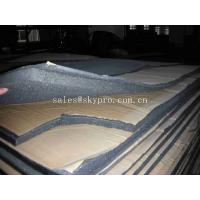 China Flexible Insulation Rubber Foam Sheet With Adhesive Sticker , High Density on sale