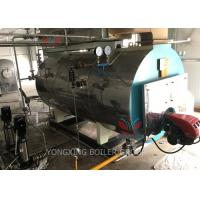 Quality High Efficiency Gas Fired Hot Water Boiler Automatic Running Operation for sale