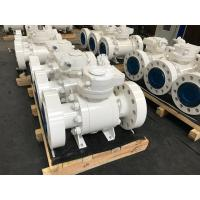 Quality Forged Steel Trunnion Ball Valve Widely Used Range Design Easy Maintenance for sale