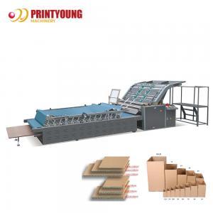 China Flute Laminating 11kw Corrugated Box Making Machine on sale