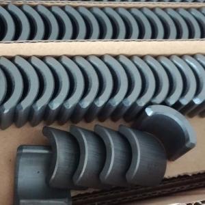Arc Shape Ferrite Permanent Hard Magnet For Industrial Micro Motors