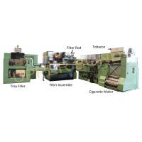 Quality Green MK9 Maxs HCF80 Cigarette Rolling Machine Siemens PLC S7-300 Series for sale