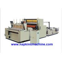 Quality Full Automatic Toilet Paper Making Machine , Jumbo Roll Toilet Tissue Machine for sale