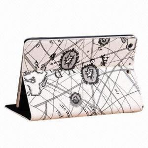 China Map Cover/Portfolio PU Leather Case for Mini iPad, with Korean Zipper Design on sale