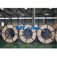 Multi Core Welded Stainless Steel Coiled Tubing TP304L / 316L Flame Retardant for sale