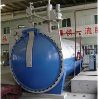 Steam Sand Lime Brick Wood Autoclave Equipment With Automatic Control , Φ2.85m