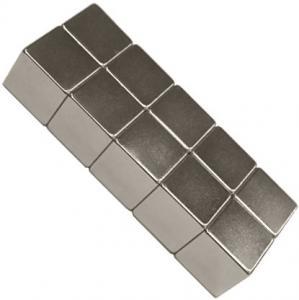 N33-N52 sintered permanent neodymium magnet block for DC motors