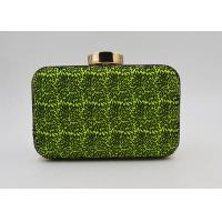 Buy cheap Elegant Small Green Evening Clutch Bags Rectangle Shaped Wallet Evening Bag from wholesalers