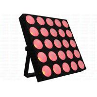 Quality AC100 - 240V 25x30w Pixle Control Cob  Led  Wash Lights / Led Beam Moving Head for sale