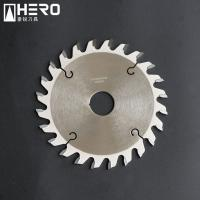 Quality Conical Teeth Panel Saw Blade , Scoring Blade For Table Saw Fast Cleaning Cutting for sale