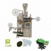 China 30-60bags/min Small Scale Tea Bag Machine Used For Sealing Grain - Like Materials on sale