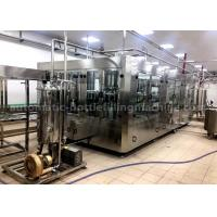 Buy 40 Rinsing Heads Juice Bottling Machine , Automatic Juice Filling Machine 6250*3050*2400mm at wholesale prices