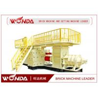 Quality Alloy Structure Auto Clay Mud Brick Making MachineEasy Operation CE Certificated for sale