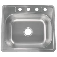 """Quality Commercial Undermount Single Bowl Kitchen Sink 25""""X22""""X9"""" Easy Cleaning for sale"""