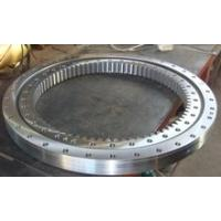 Quality Three Row Roller Type Gear Slewing Ring Bearing Aerial Working Platform Automation Line Marine Crane Slewing Bearing for sale