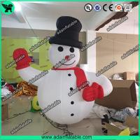 Quality Advertising Inflatable Snowman,Event Inflatable Snow Man, Party Inflatable Cartoon for sale