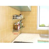 Quality Morden Style Wall Mounted Kitchen Rack Adjustable Height With Draining Plate for sale