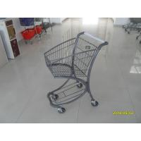 Quality Free Duty Shop 40L Supermarket Shopping Trolley , Airport Shopping Cart for sale
